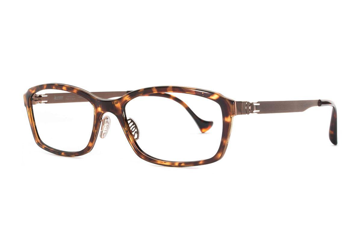 严选日制薄钢眼镜 F2RM-1602-AM1