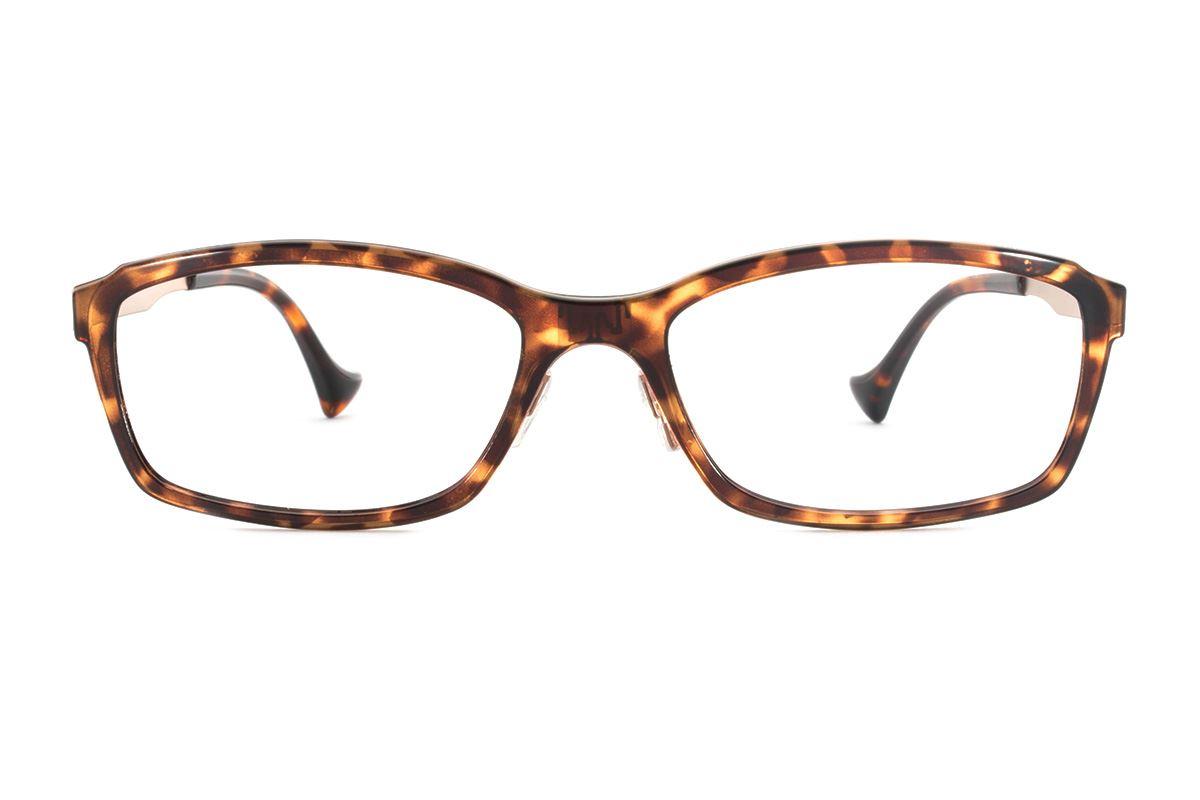 嚴選日製薄鋼眼鏡 F2RM-1602-AM2