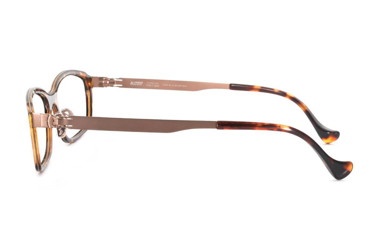 严选日制薄钢眼镜 F2RM-1602-AM3