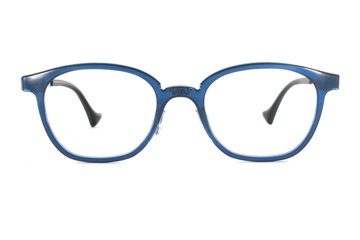 嚴選日製薄鋼眼鏡 F2RM-1603-BU2