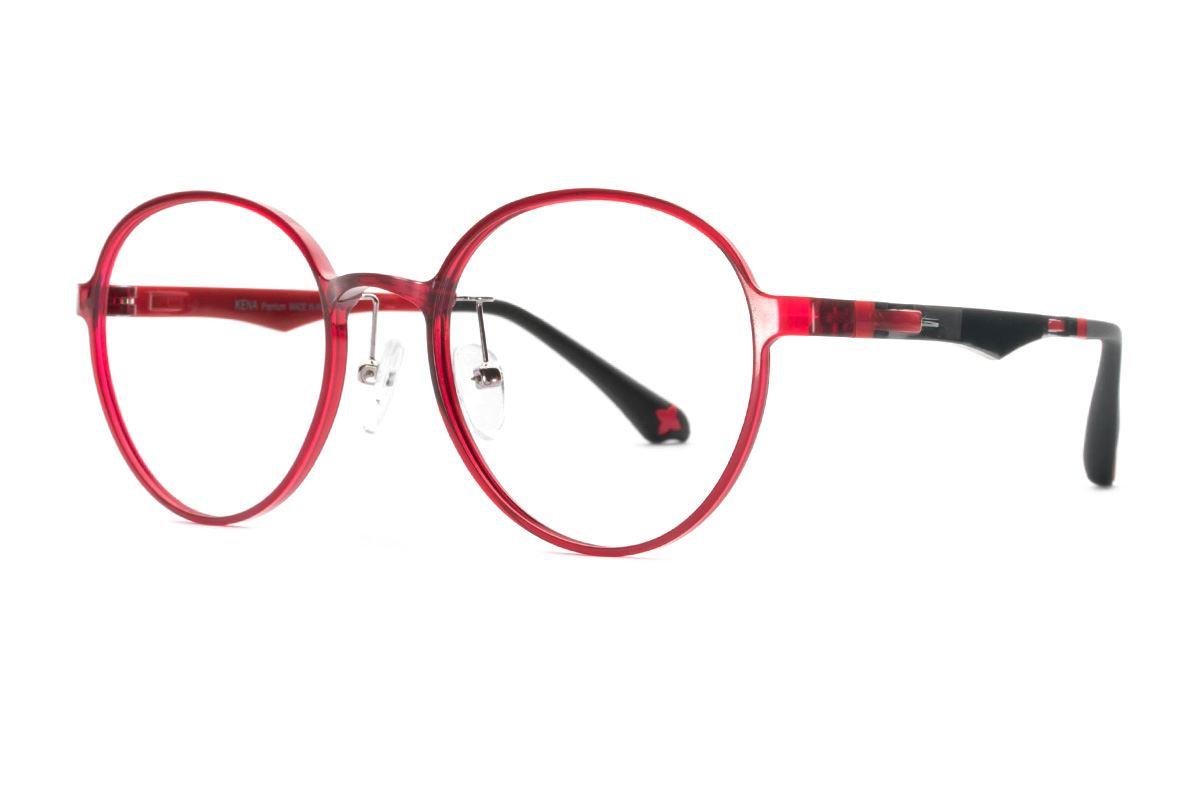 严选韩制塑钢眼镜 FKN201-RE1