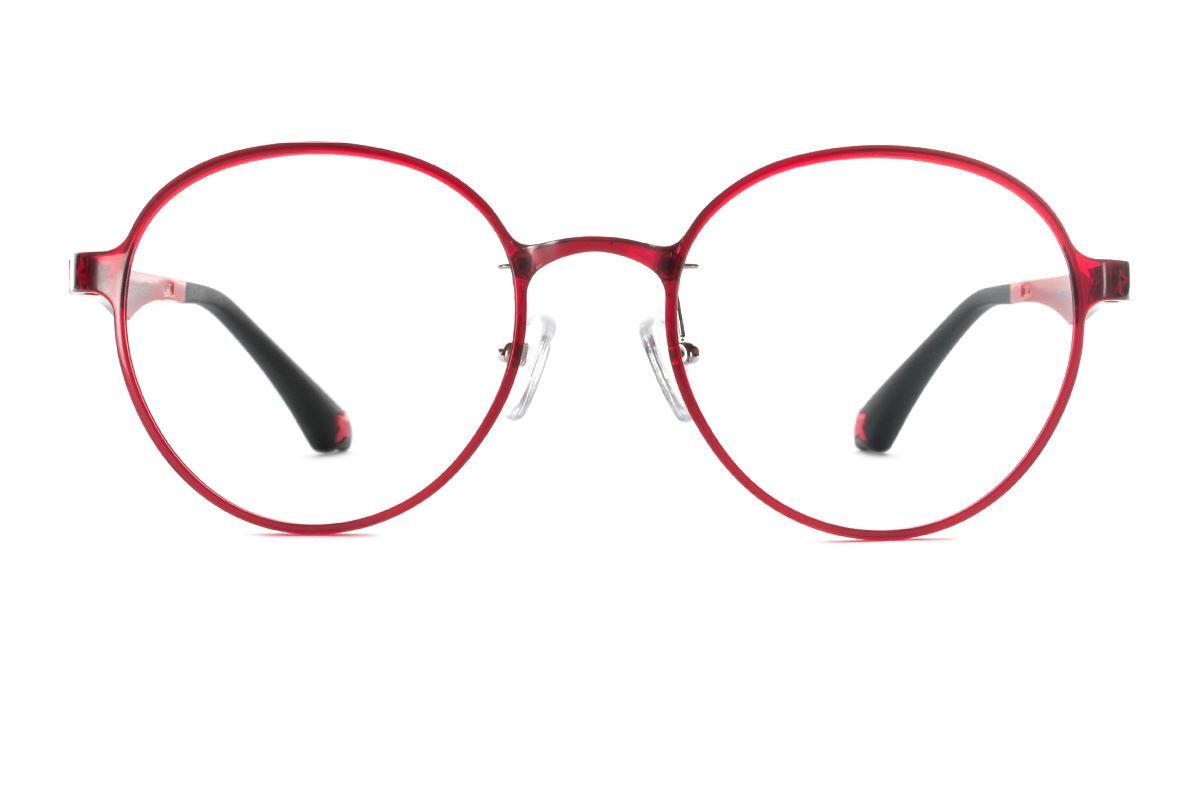 严选韩制塑钢眼镜 FKN201-RE2