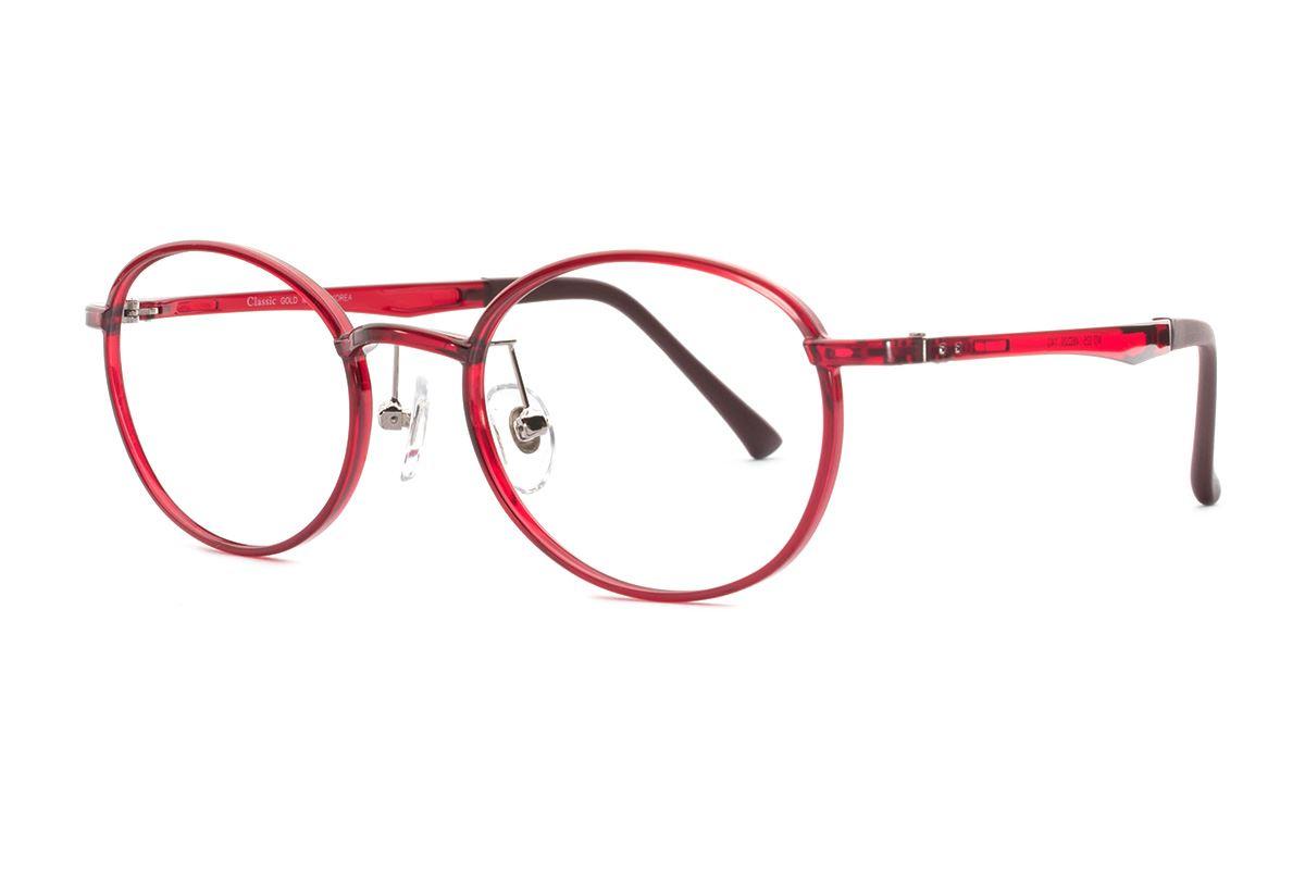 严选韩制塑钢眼镜 FMD325-RE1