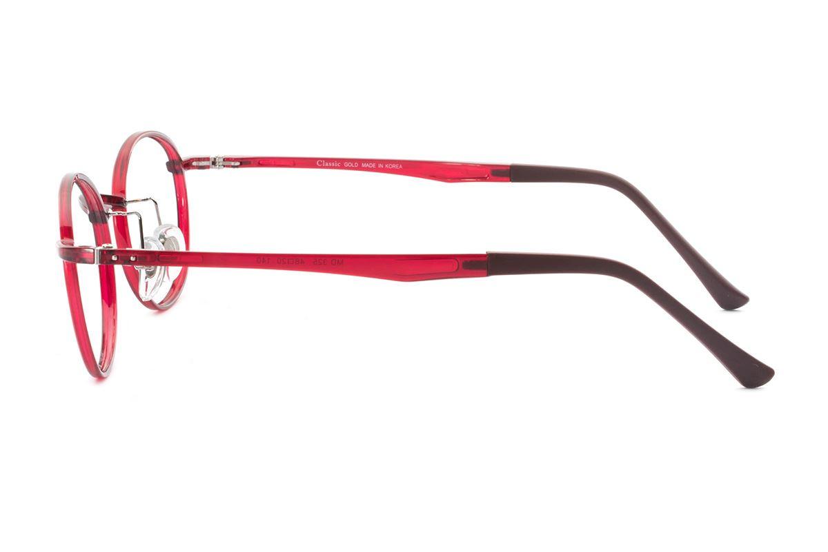 严选韩制塑钢眼镜 FMD325-RE3
