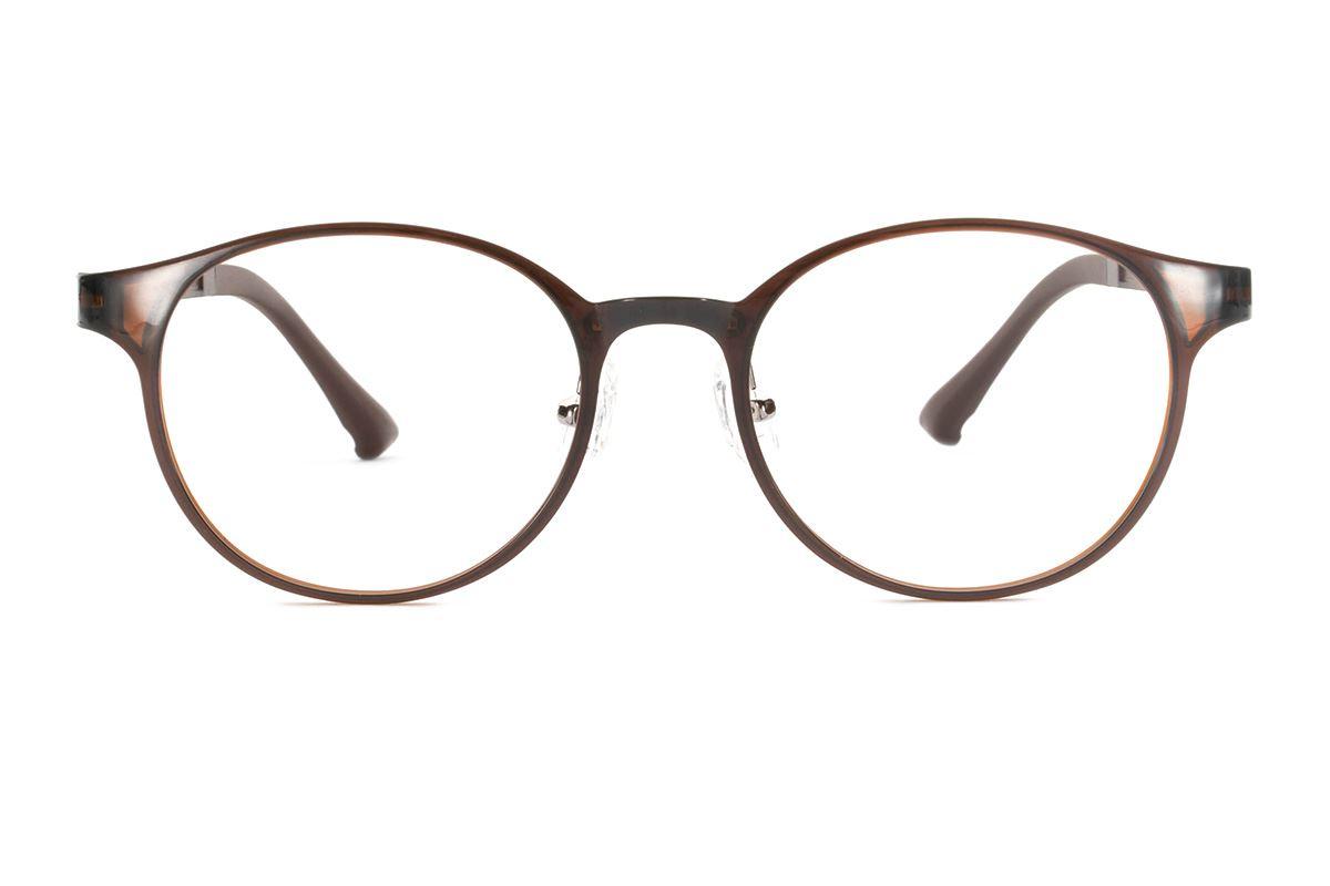 严选韩制塑钢眼镜 FMD323-BO2