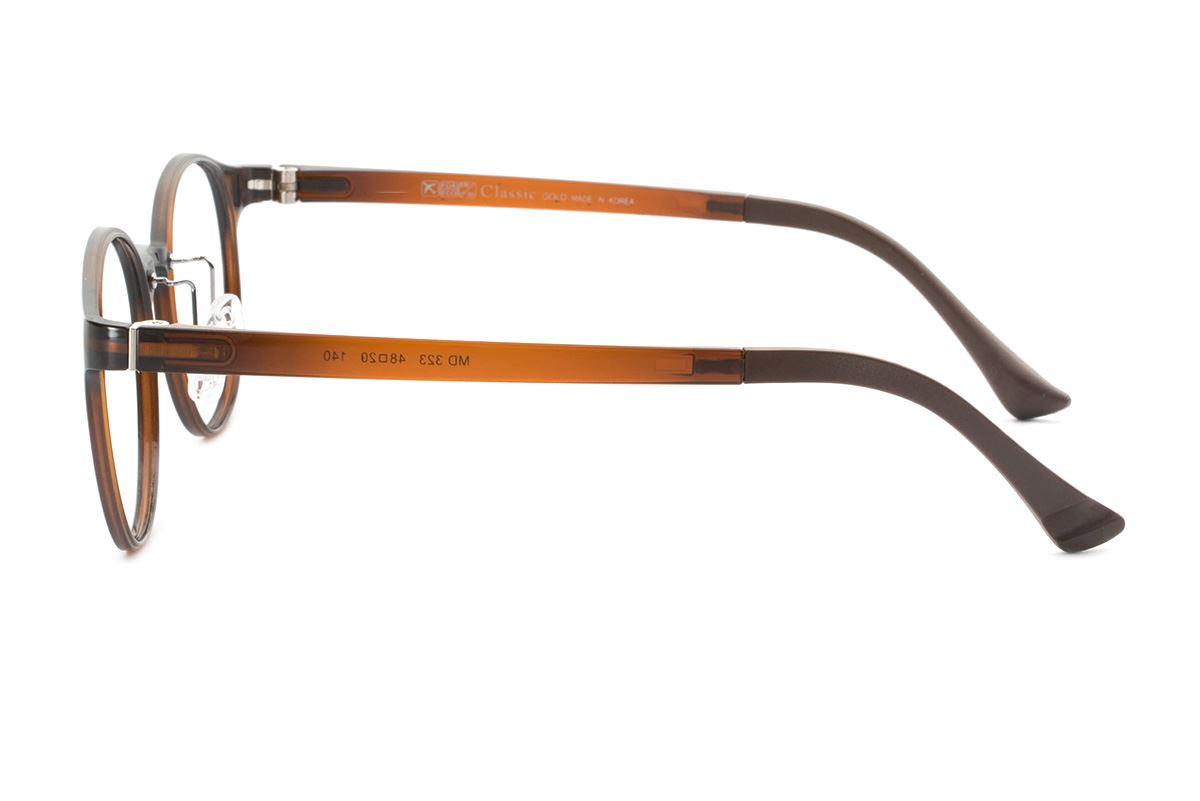 严选韩制塑钢眼镜 FMD323-BO3