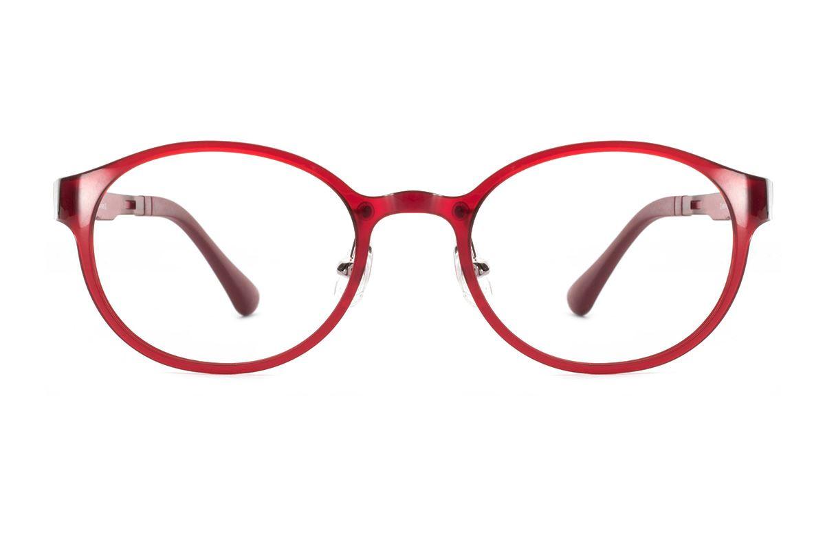 严选韩制塑钢眼镜 FCL1505-RE2