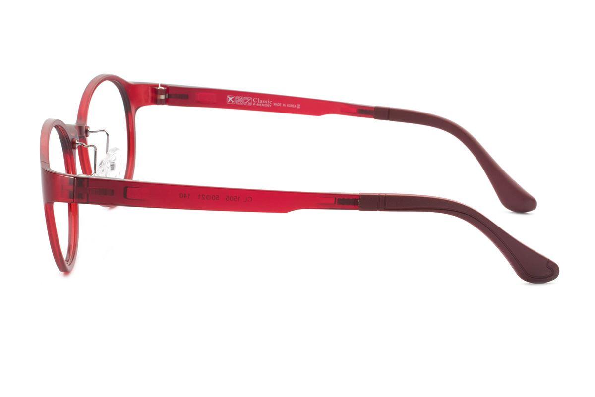 严选韩制塑钢眼镜 FCL1505-RE3