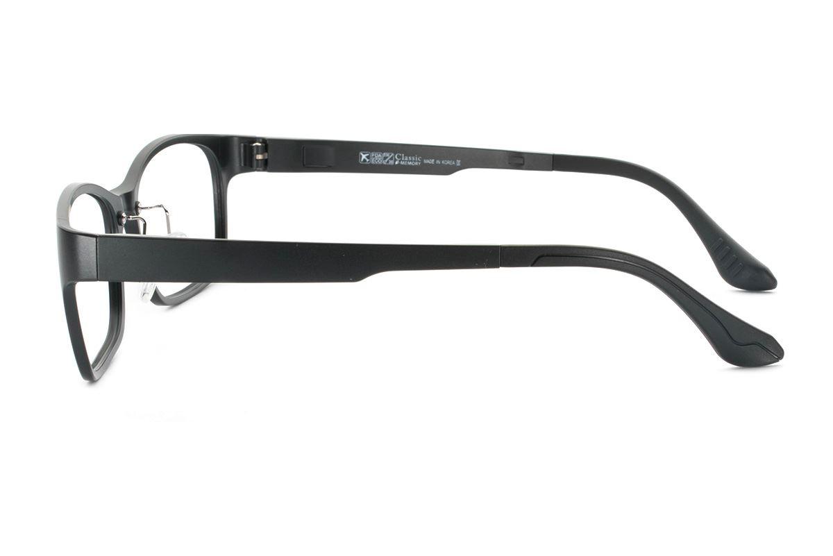 严选韩制塑钢眼镜 FCL1507-BA3
