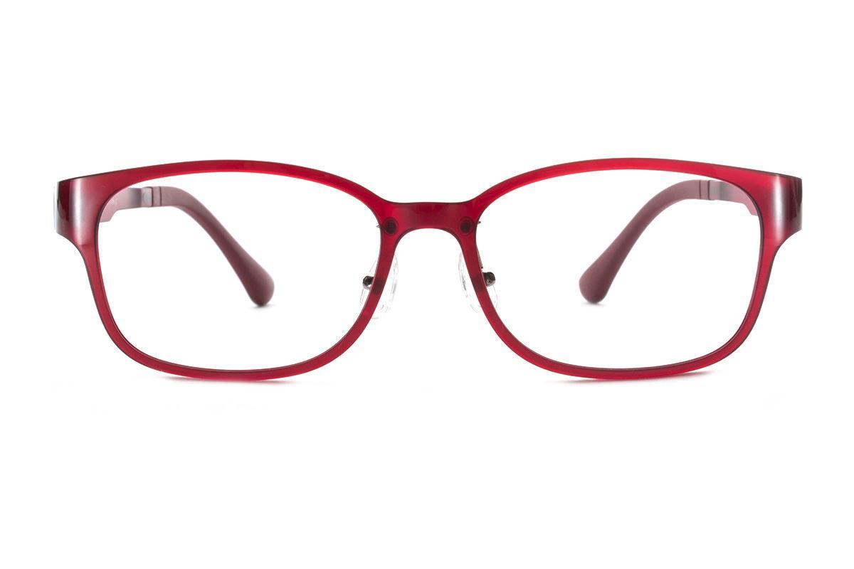 严选韩制塑钢眼镜 FCL1508-RE2