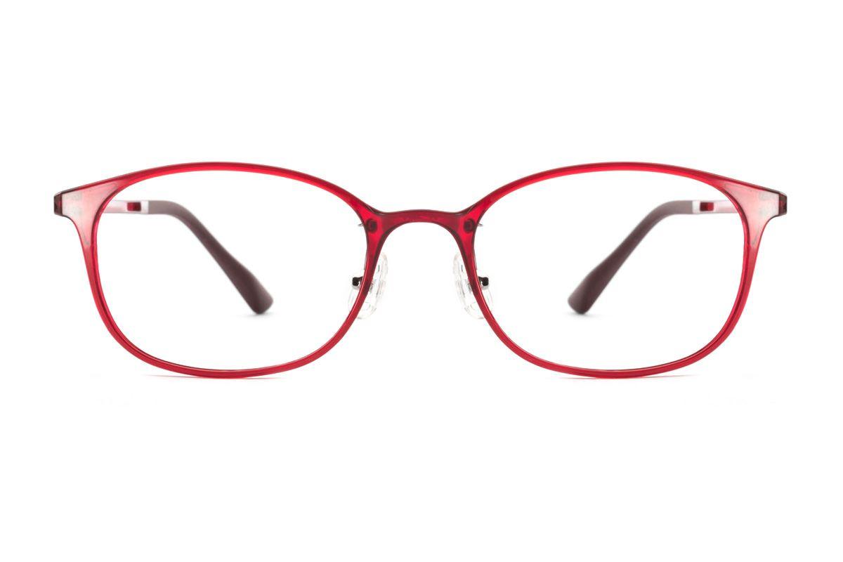 严选韩制塑钢眼镜 FMD319-RE2