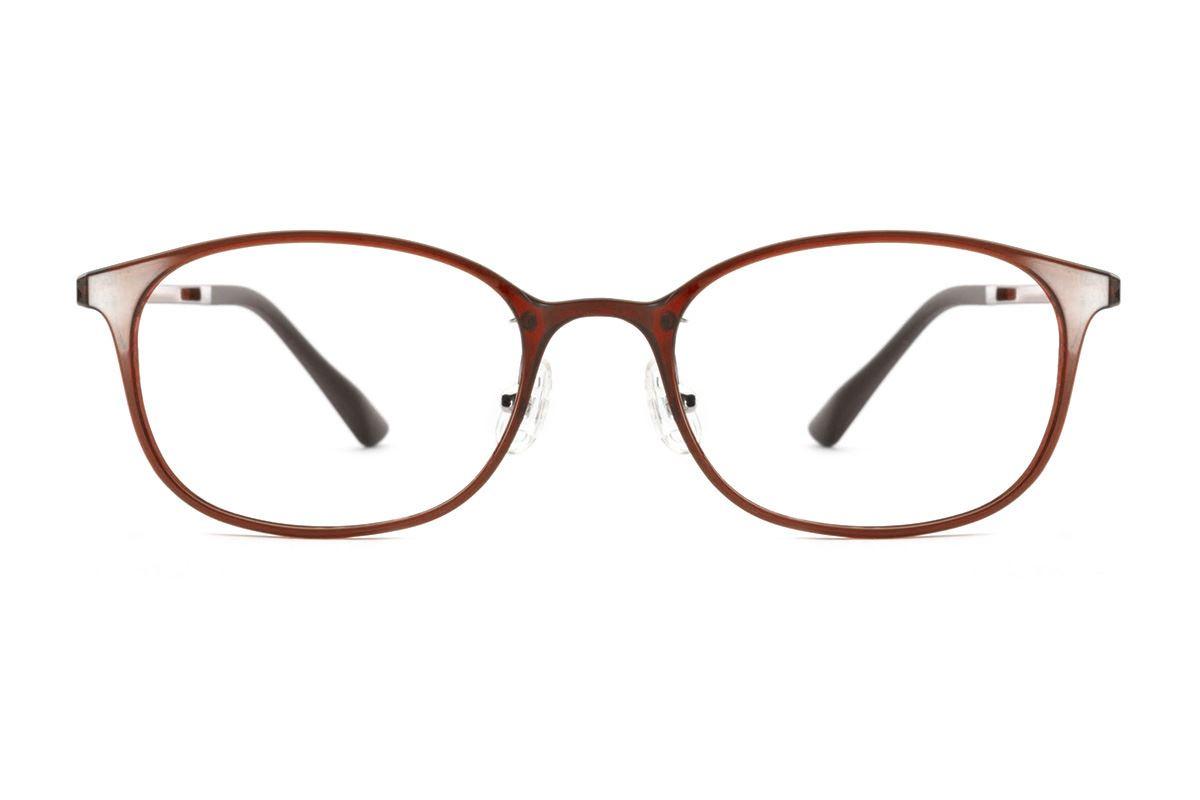 严选韩制塑钢眼镜 FMD319-BO2